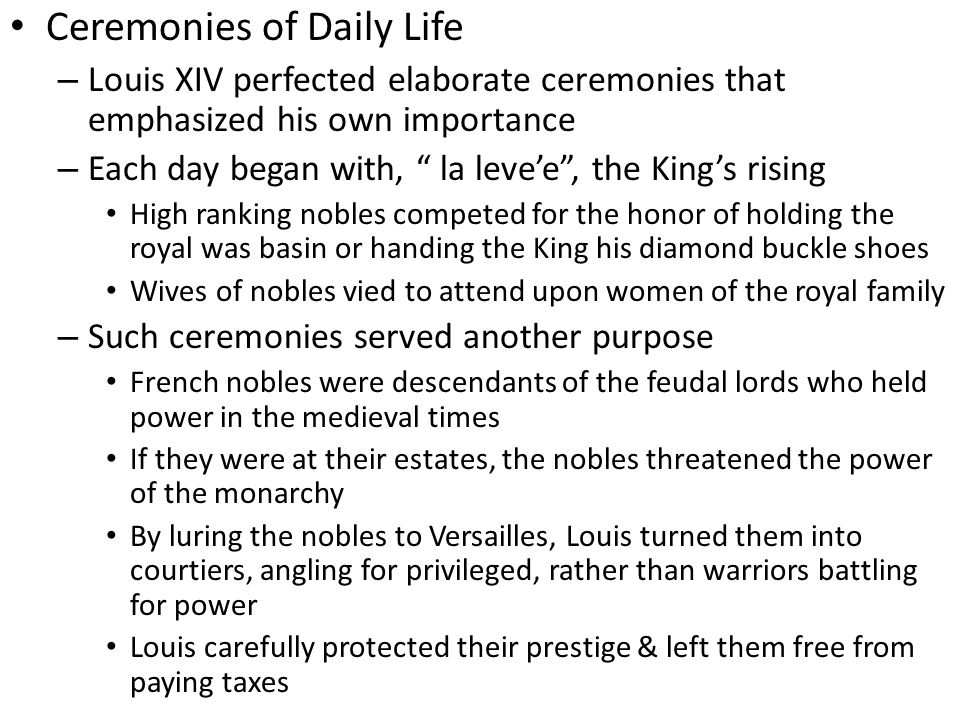 Ceremonies of Daily Life