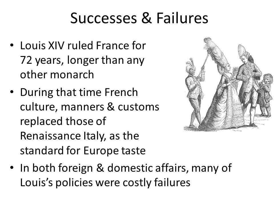 Successes & Failures