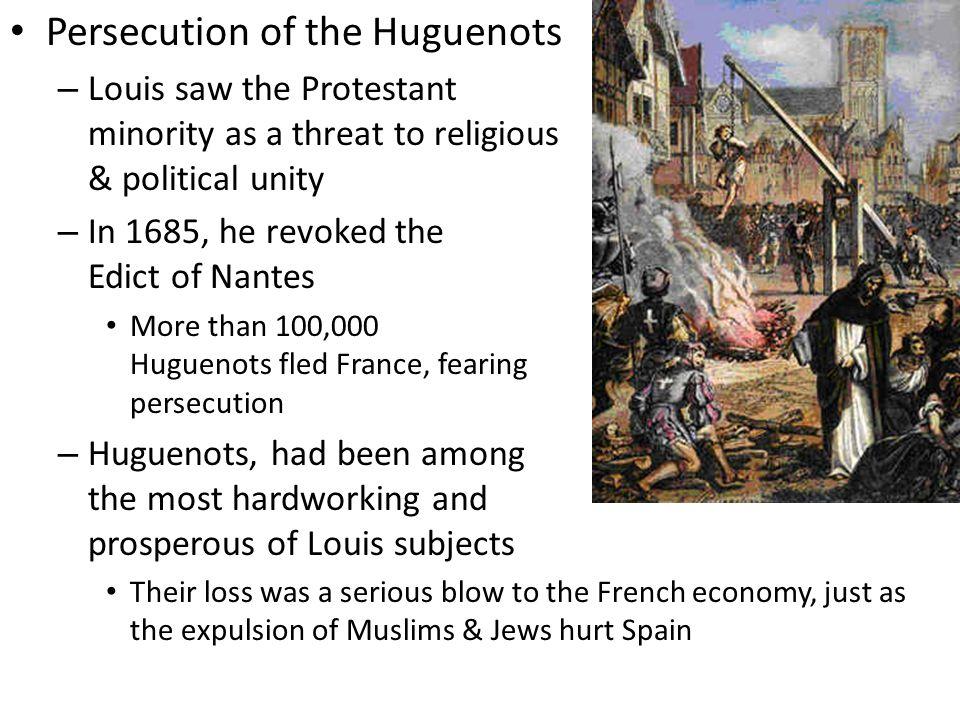 Persecution of the Huguenots