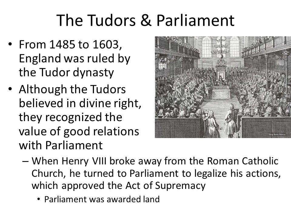 The Tudors & Parliament