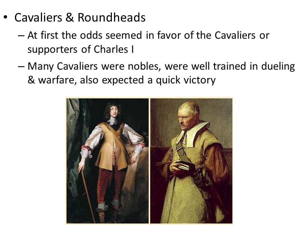Cavaliers & Roundheads