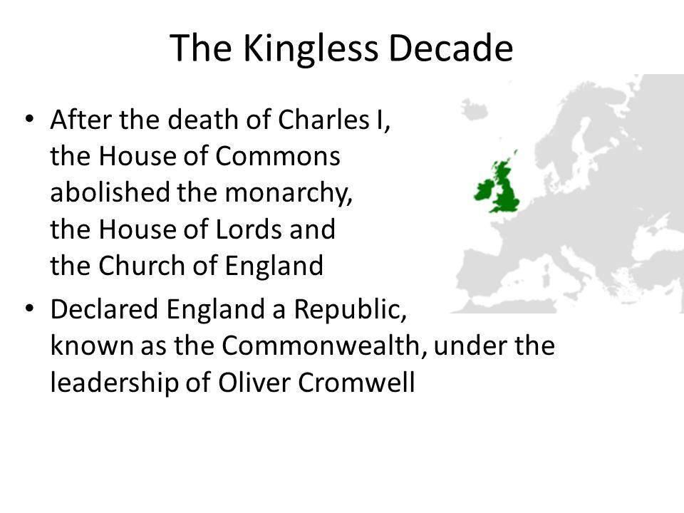 The Kingless Decade