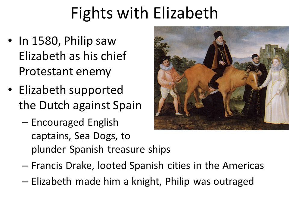 Fights with Elizabeth