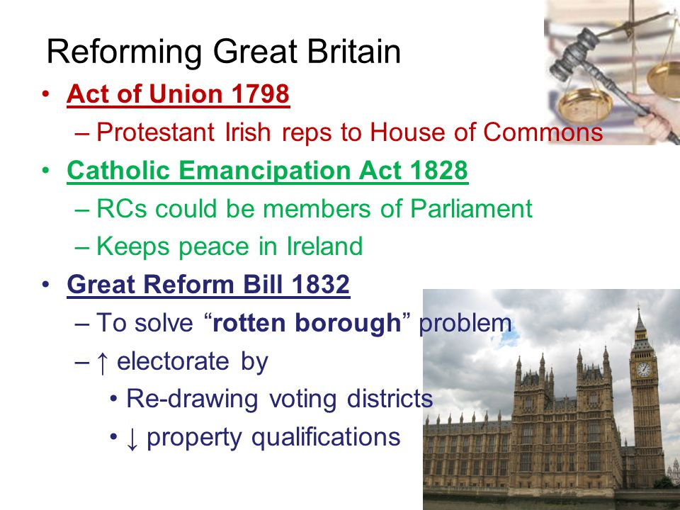 Reforming Great Britain