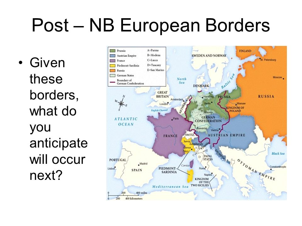 Post – NB European Borders
