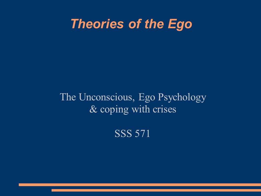 The Unconscious, Ego Psychology