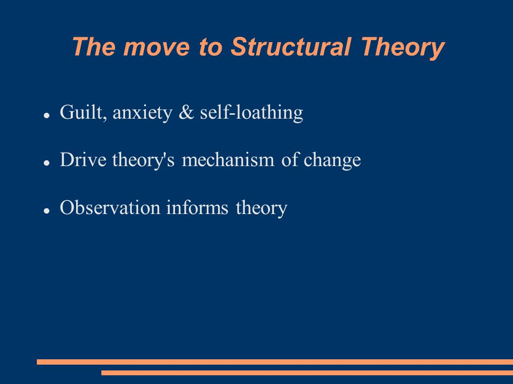 The move to Structural Theory