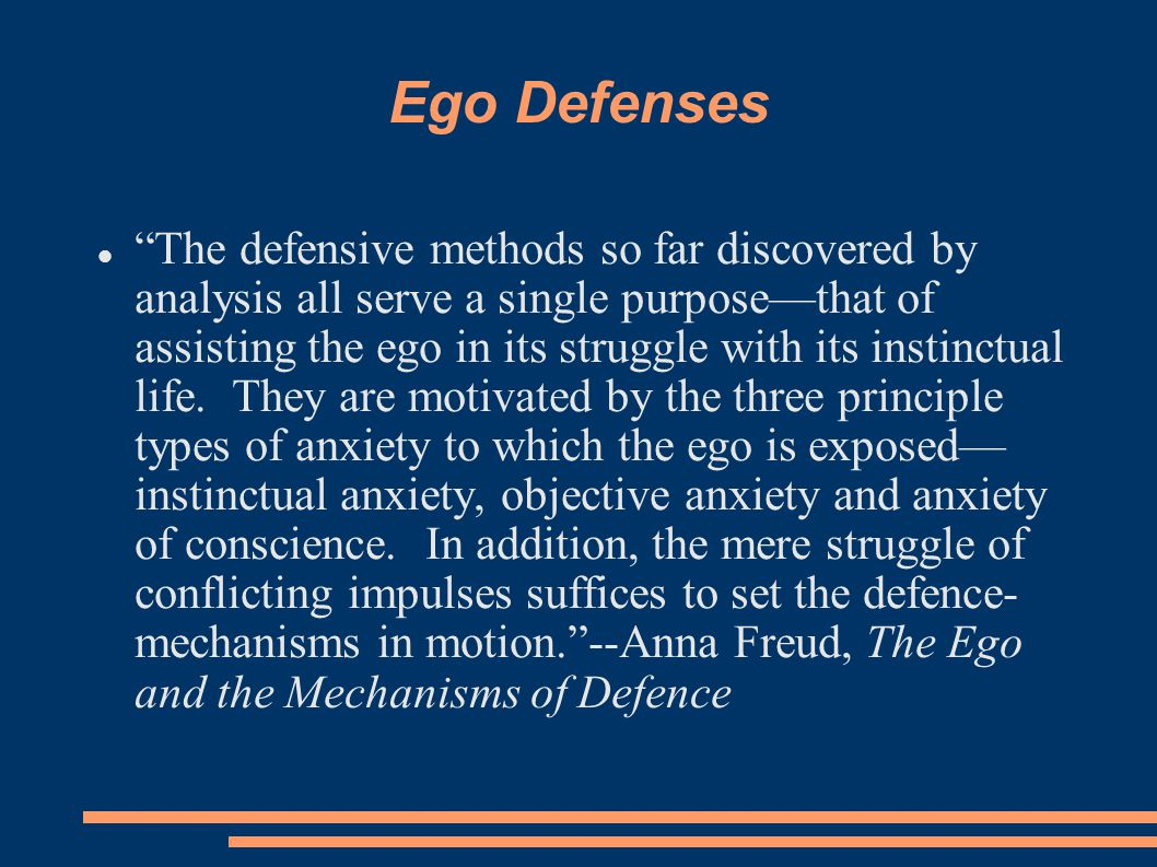 Ego Defenses