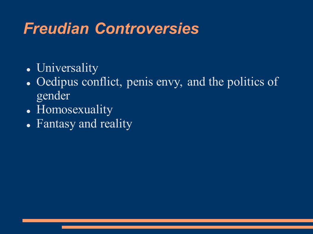 Freudian Controversies
