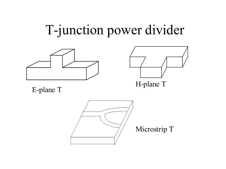 T-junction power divider
