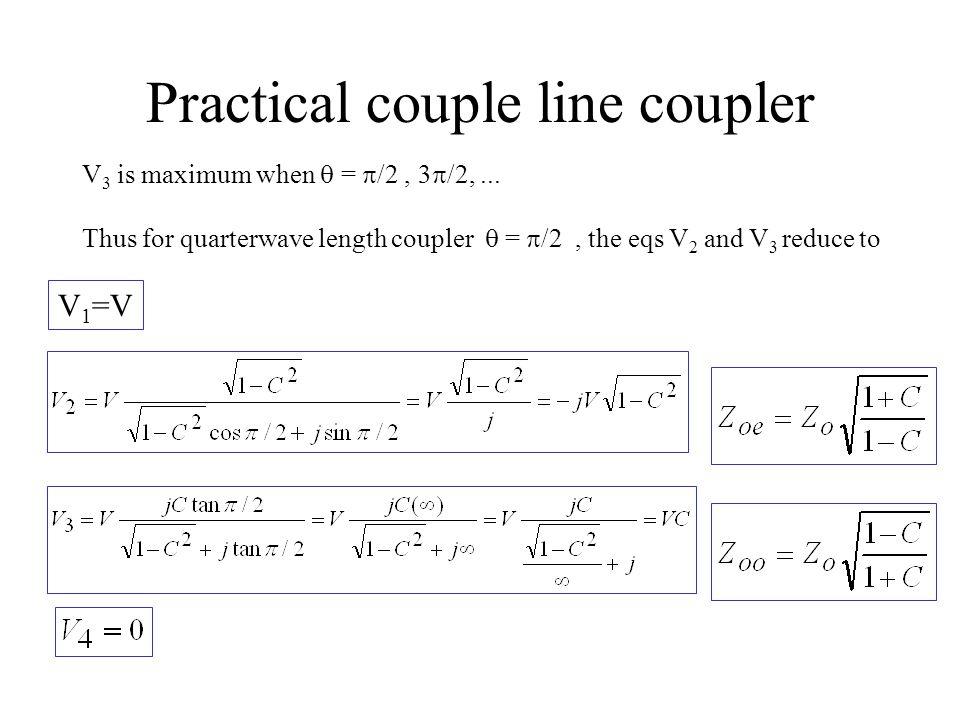 Practical couple line coupler