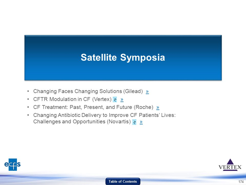 Satellite Symposia Changing Faces Changing Solutions (Gilead) »