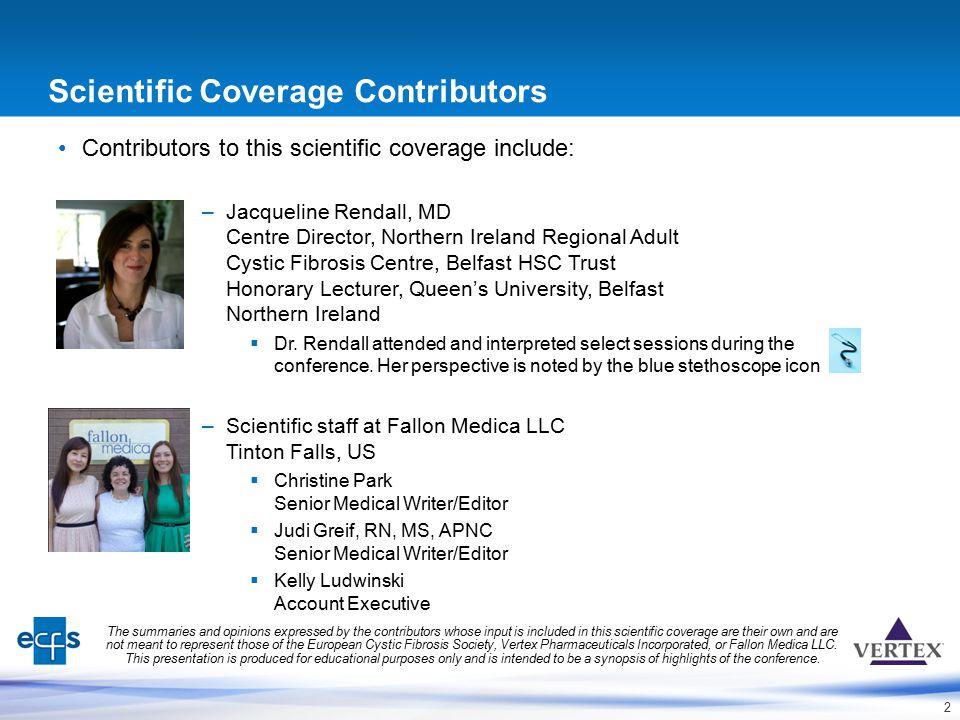 Scientific Coverage Contributors
