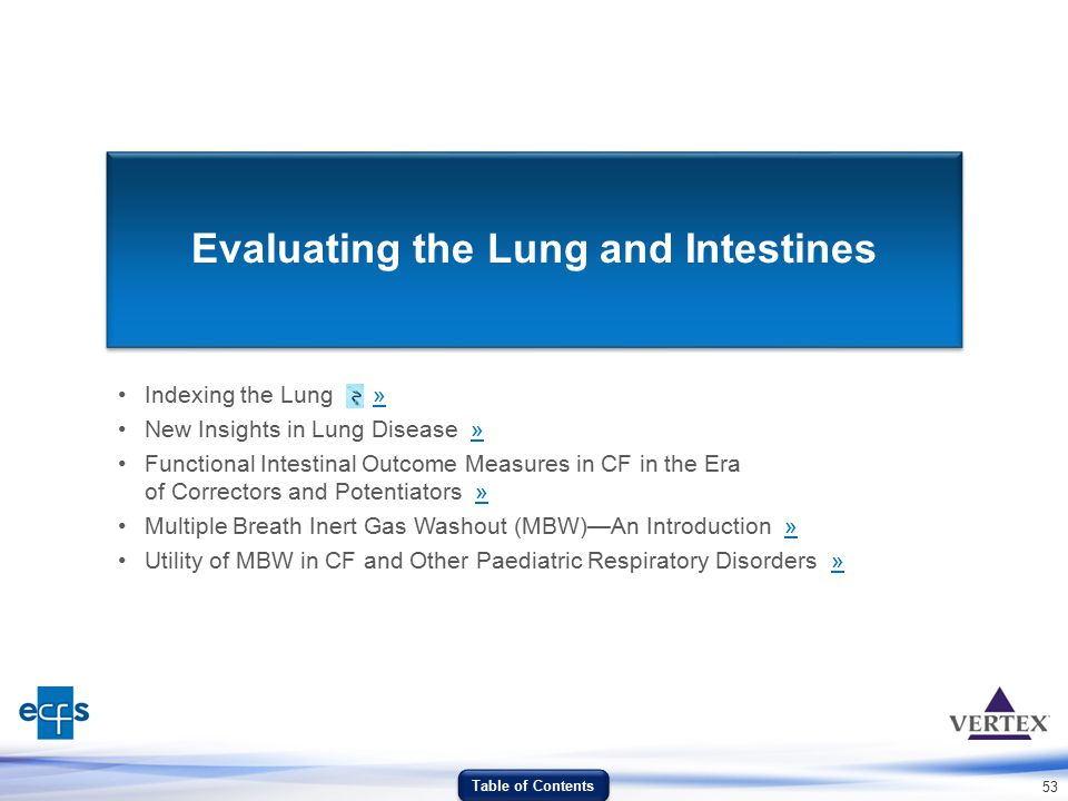 Evaluating the Lung and Intestines