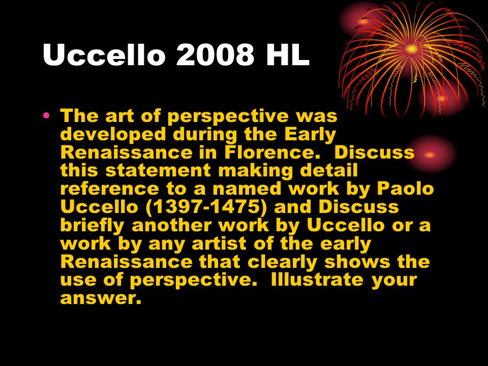 Uccello 2008 HL