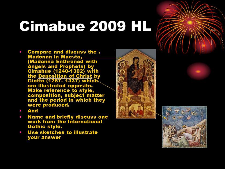 Cimabue 2009 HL