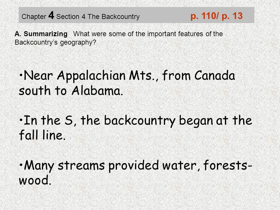 Near Appalachian Mts., from Canada south to Alabama.