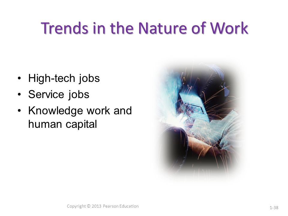 Trends in the Nature of Work
