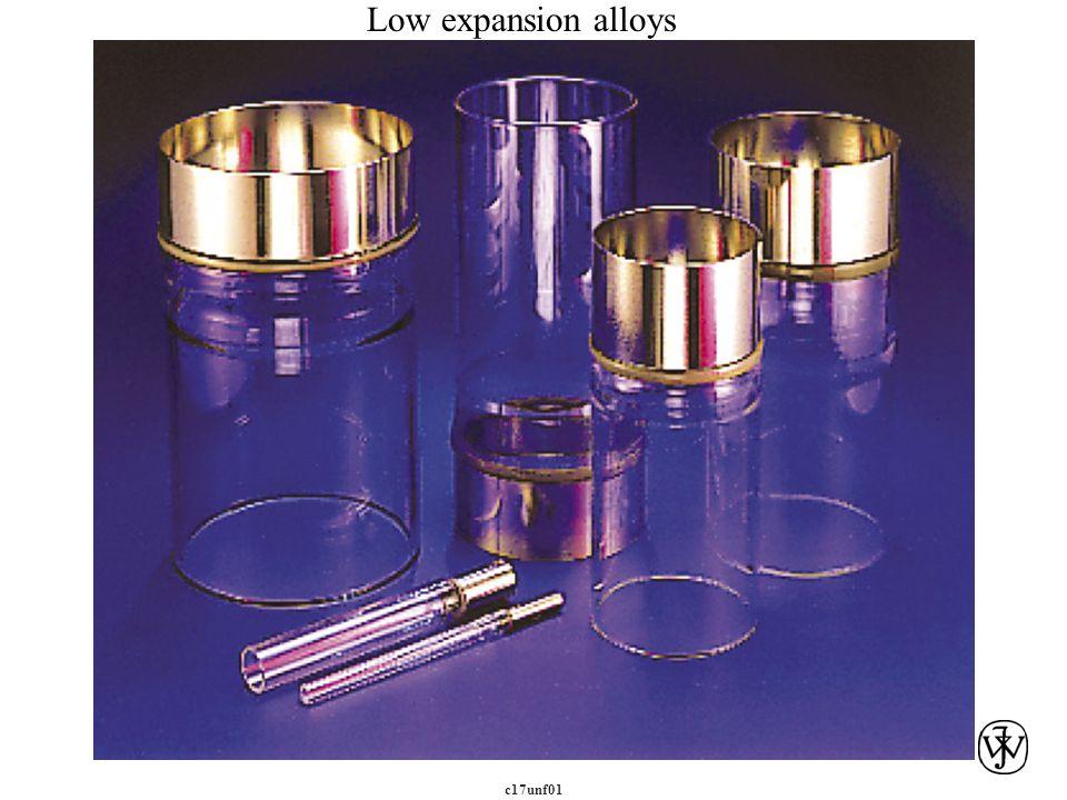 Low expansion alloys c17unf01 c17unf01