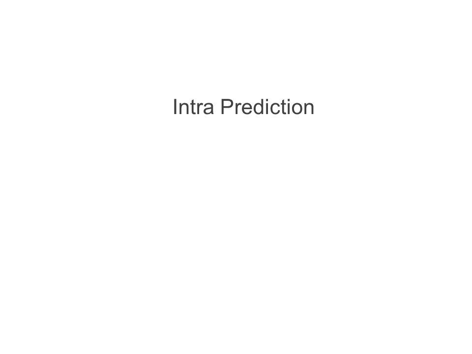 Intra Prediction