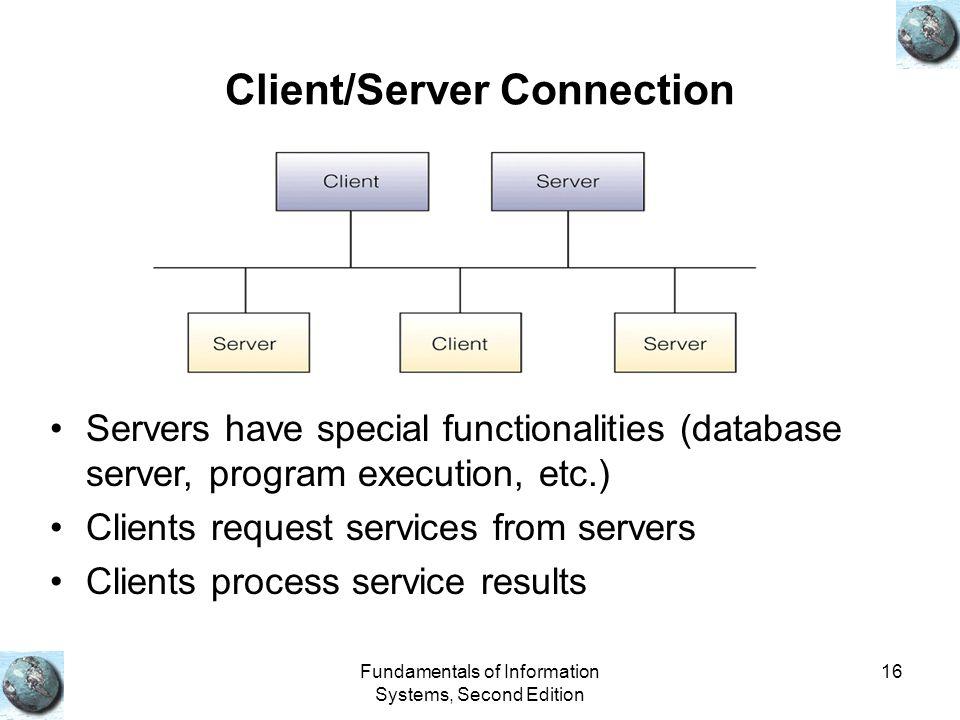 Client/Server Connection