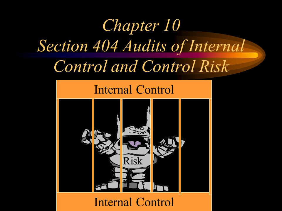 Chapter 10 Section 404 Audits of Internal Control and Control Risk