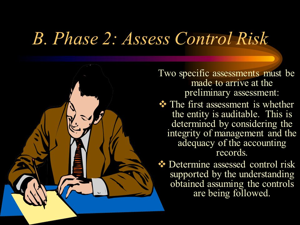 B. Phase 2: Assess Control Risk