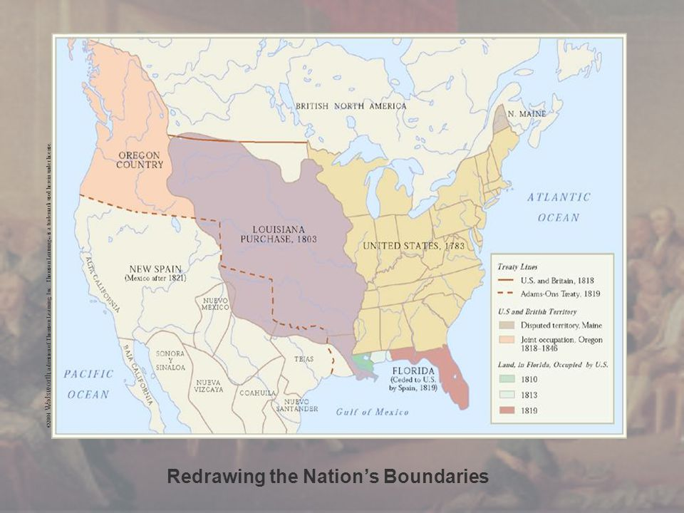 Redrawing the Nation's Boundaries