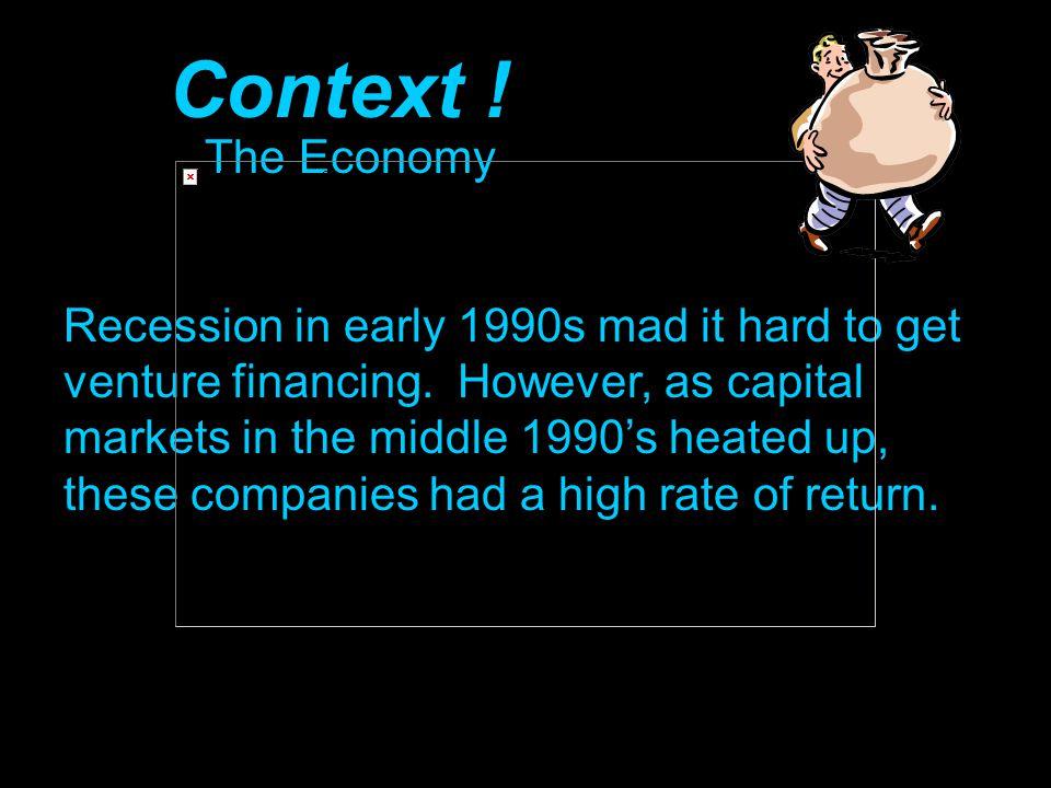 Context ! The Economy.