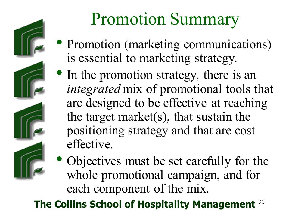 The Collins School of Hospitality Management