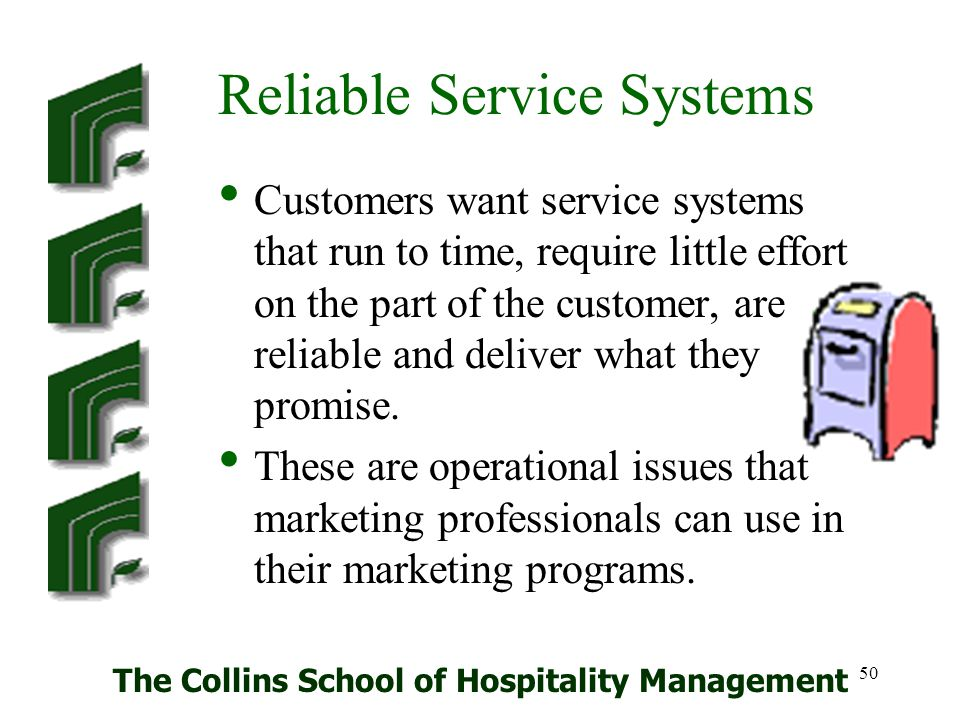Reliable Service Systems