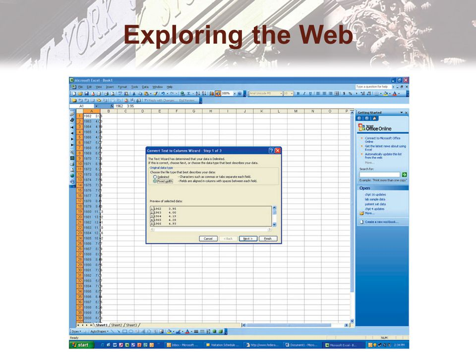 Exploring the Web