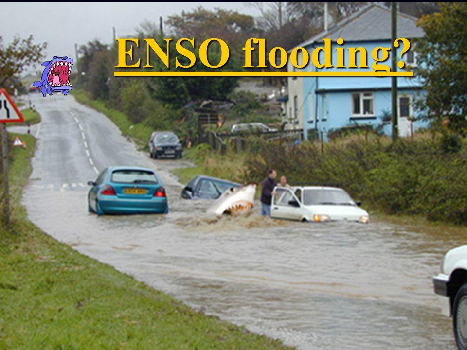 ENSO flooding