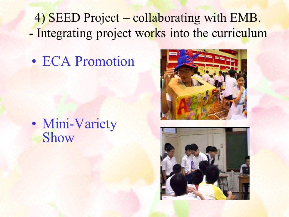 ECA Promotion Mini-Variety Show