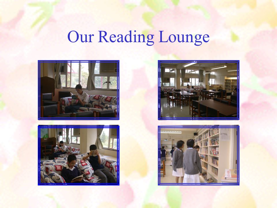 Our Reading Lounge