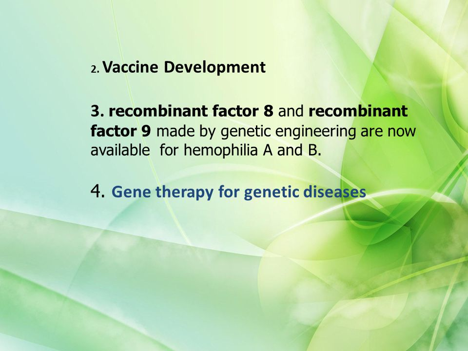 2. Vaccine Development 3.