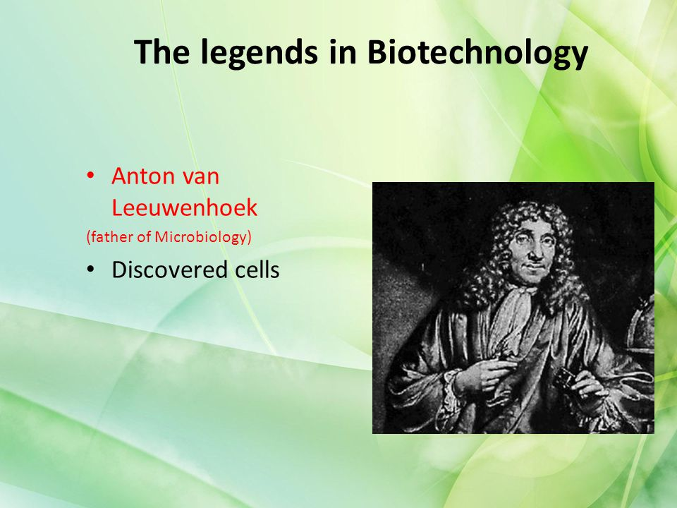 The legends in Biotechnology