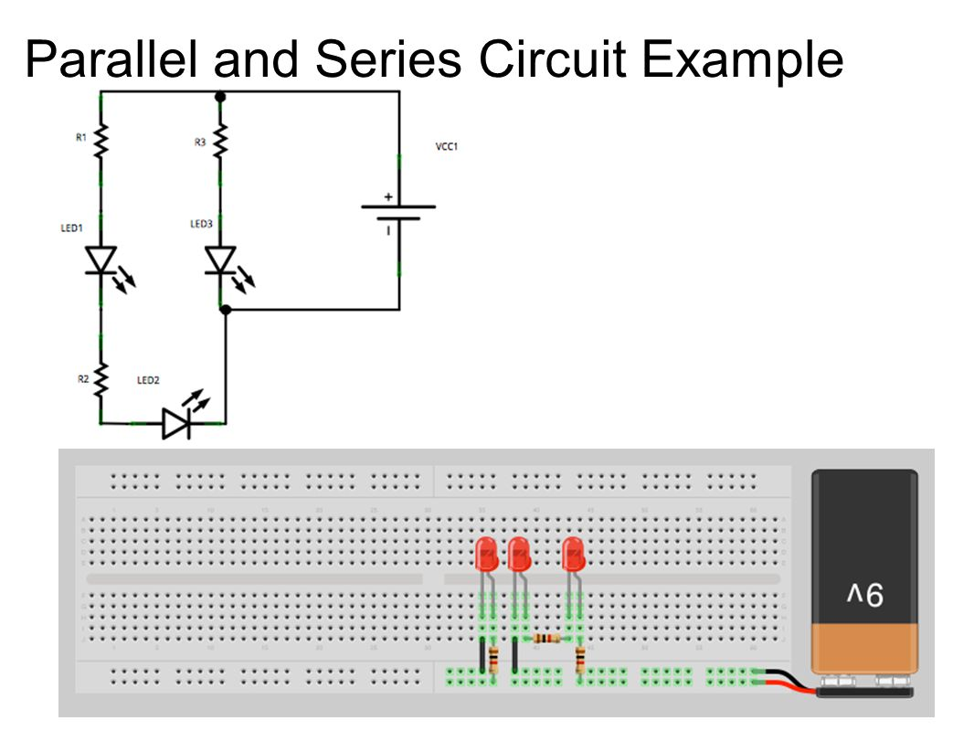 Parallel and Series Circuit Example