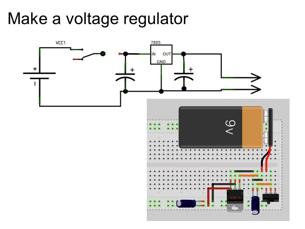 Make a voltage regulator