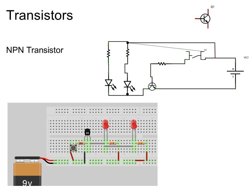Transistors NPN Transistor