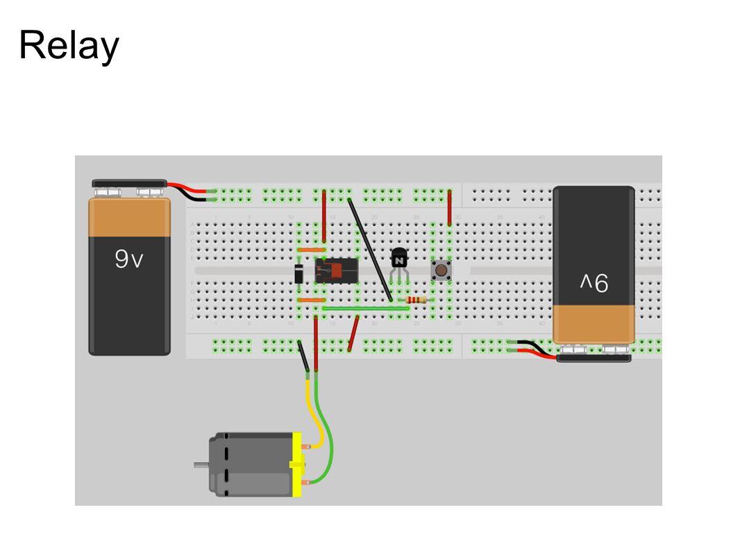 Relay Need to sue voltage regulator to make 9v -> 5v