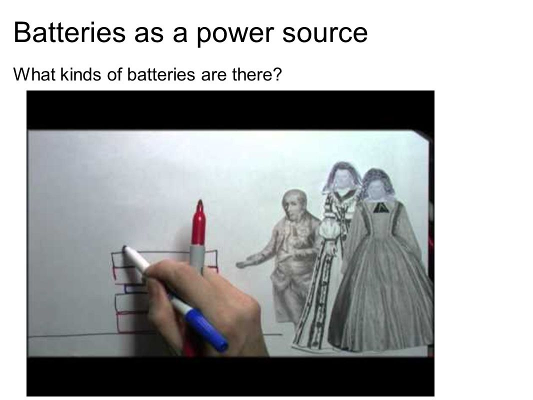 Batteries as a power source