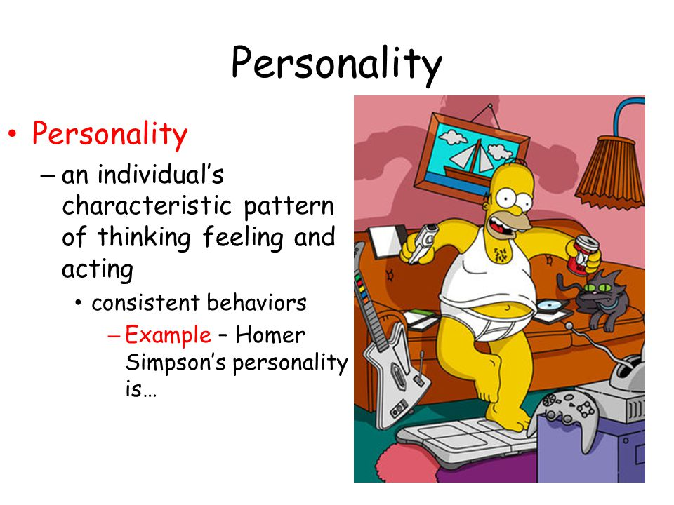 Personality Personality