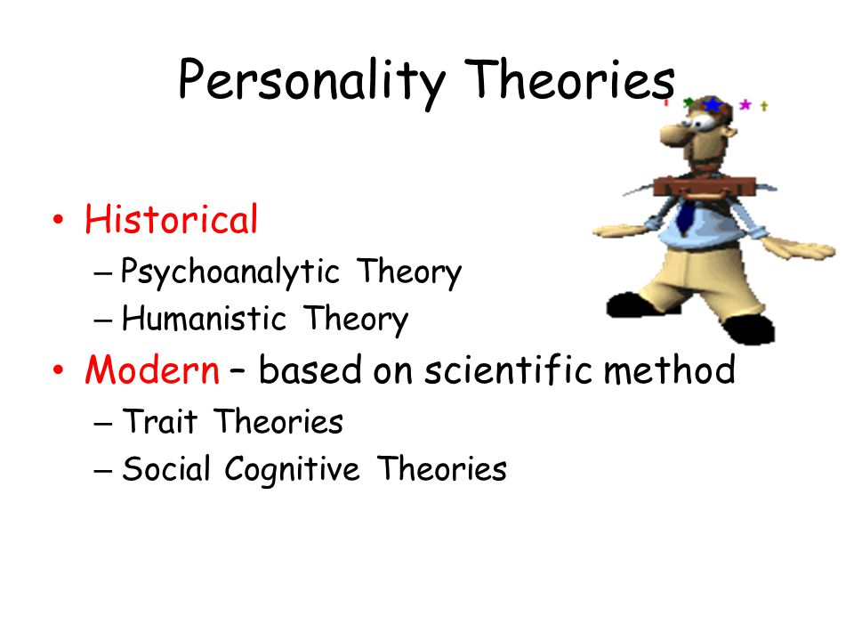 Personality Theories Historical Modern – based on scientific method