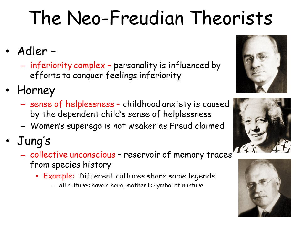 The Neo-Freudian Theorists