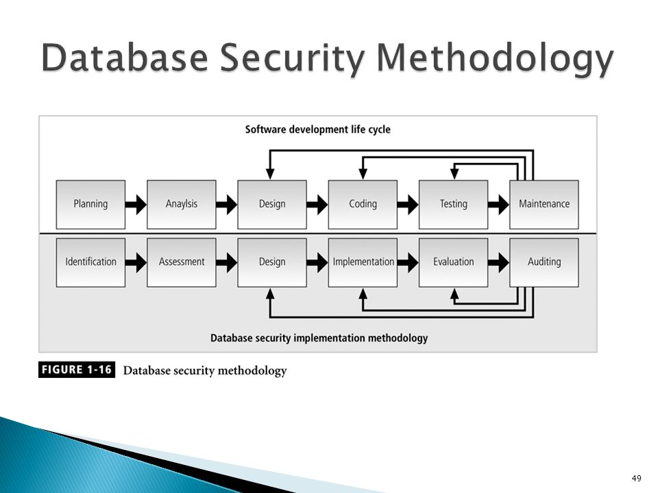 Database Security Methodology