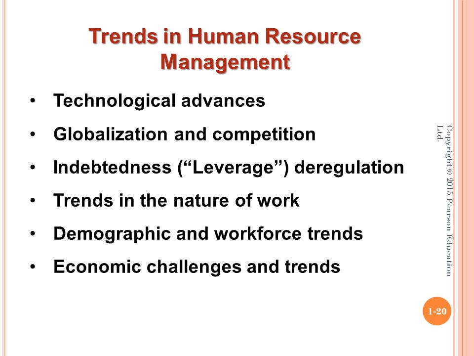 trends challenges in human resource management essays