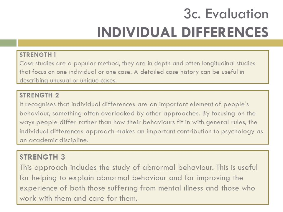 individual differences shyness and mental health What is shyness the first information to be given about this matter is: shyness is not a mental disorder why is it not a mental disorder because it does not fit some criteria like those that appear in the international disease classification, 10th edition, by the world health organization, and in the diagnostic and statistical manual of mental.