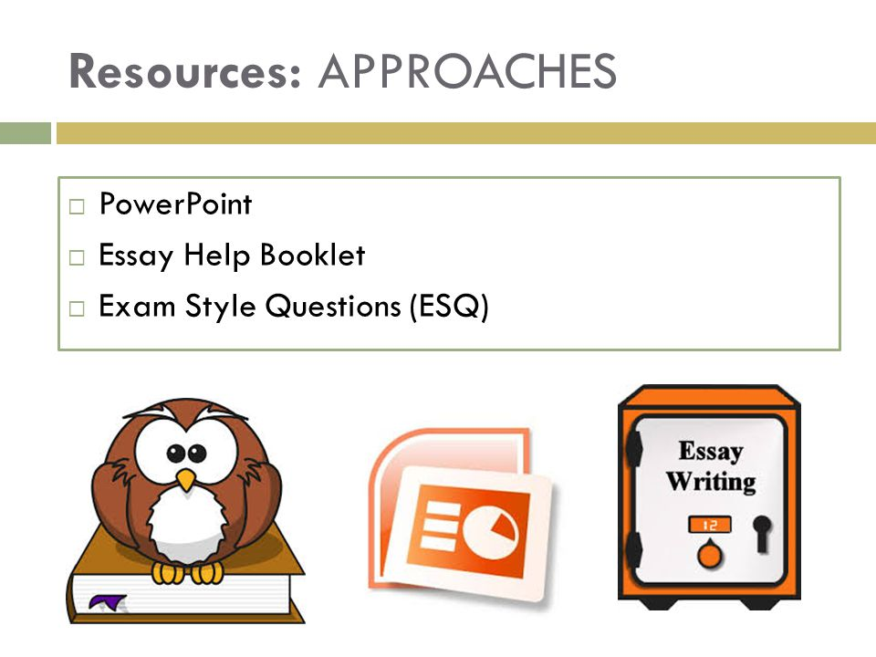 Resources: APPROACHES