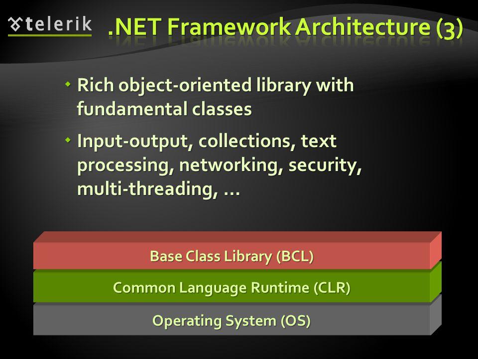 .NET Framework Architecture (3)